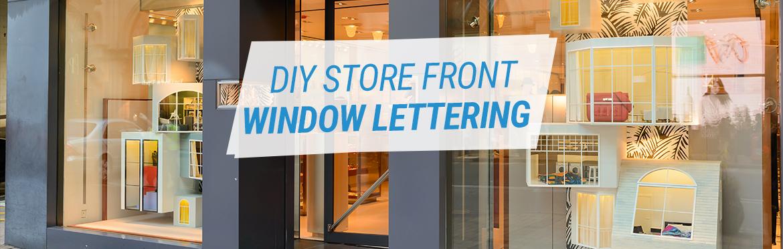 Custom Window Lettering