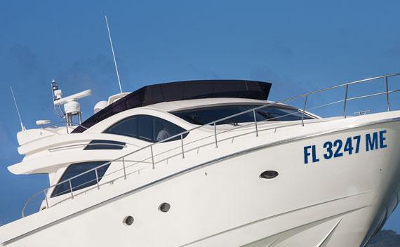 Boat Lettering - Registration
